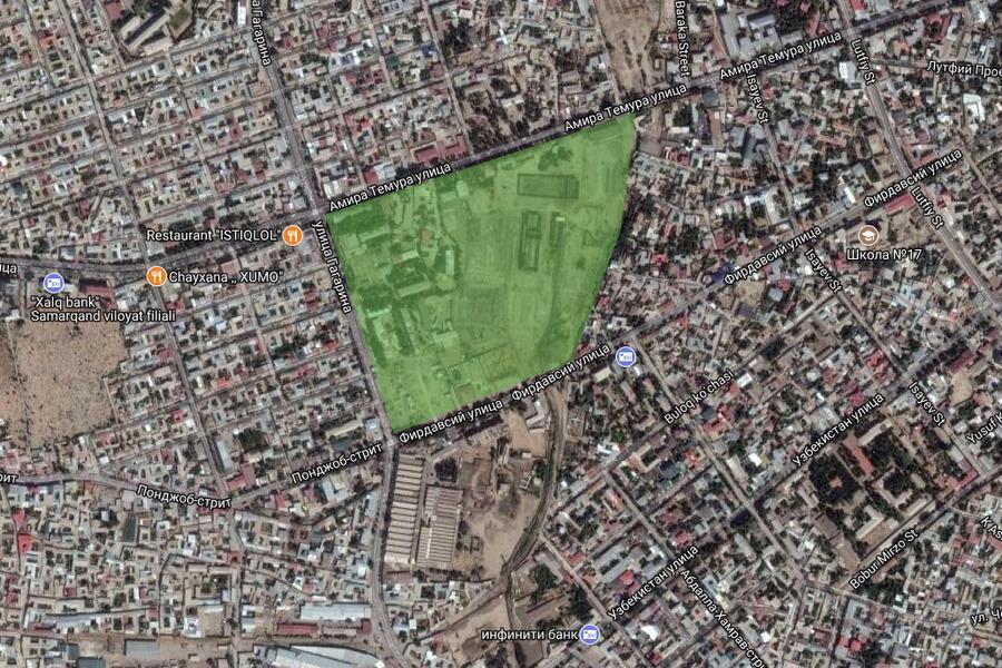 Генплан Самарканда предполагает строительство Samarkand City