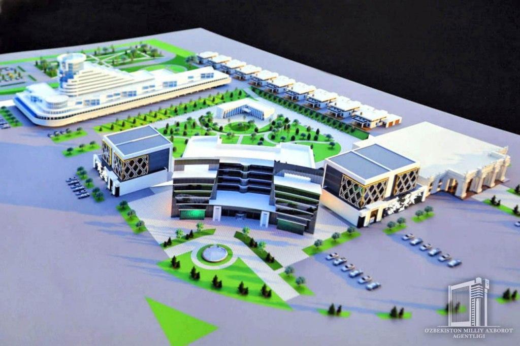 В Намангане строится комплекс стоимостью $31 млн