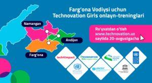 Фарғона Водийсида Technovation Girls онлайн тренингларига рўйхатдан утиш бошланди