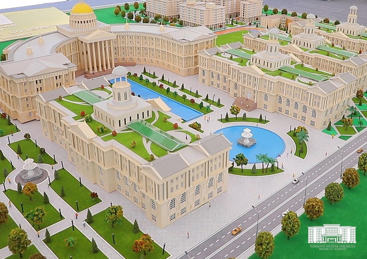 Индийская компания начала строительство университета в Сергелийском районе Ташкента