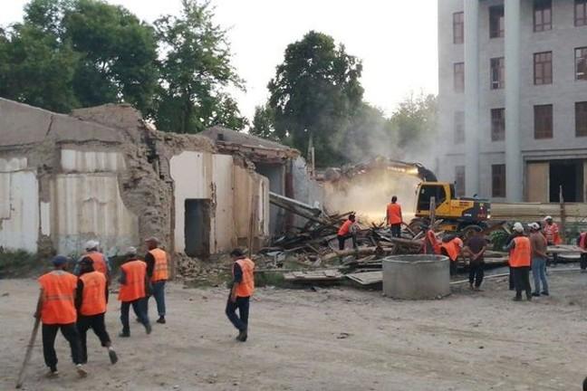 Alerte Héritage о сносе дома в Самарканде: власти продолжают политику