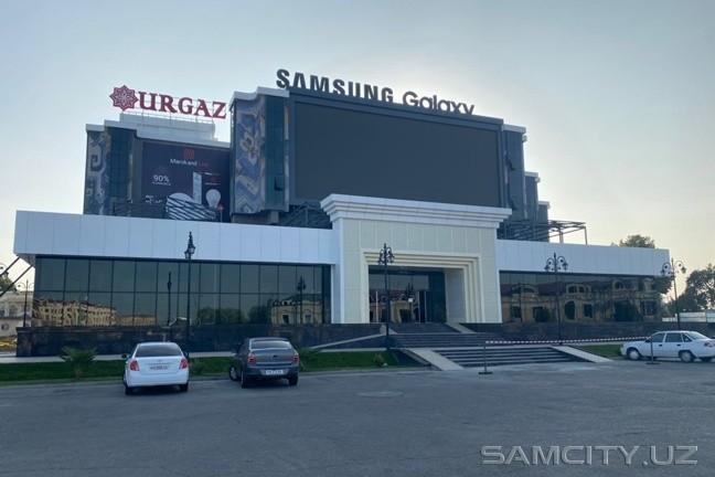 В Самарканде к концу году появится торговый центр за 21
