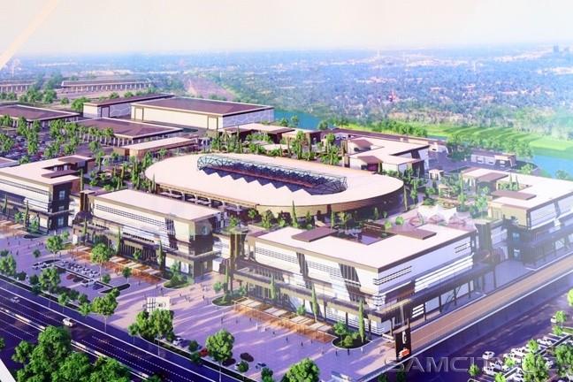 В Самарканде начато строительство Ko'k-saroy Auto Mall стоимостью $100 млн