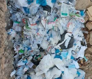 Медицинские отходы сбрасываются в районе реки Чирчик - депутат