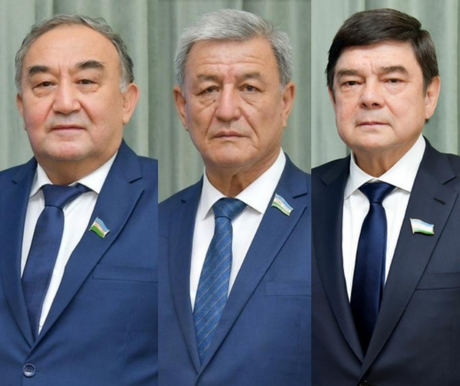 Борий Алиханов ва Наримон Умаров сенаторликка тайинланди