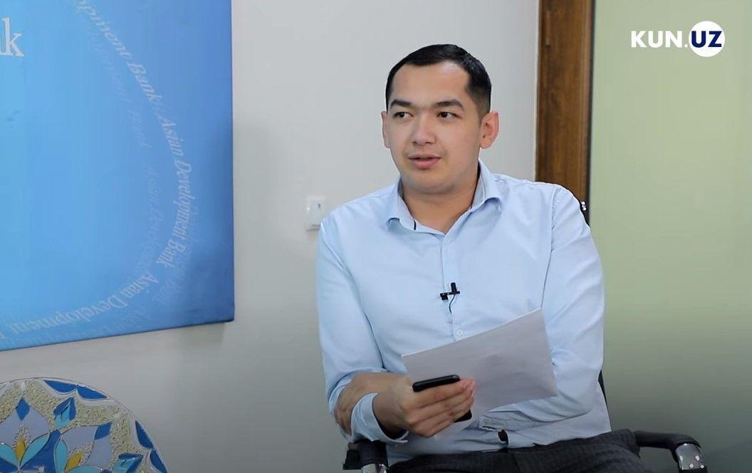 Журналист Kun.uz заявил об избиении со стороны сотрудников внутренних дел