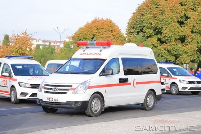 Хокимият Самаркандской области закупил 10 машин скорой помощи за 3