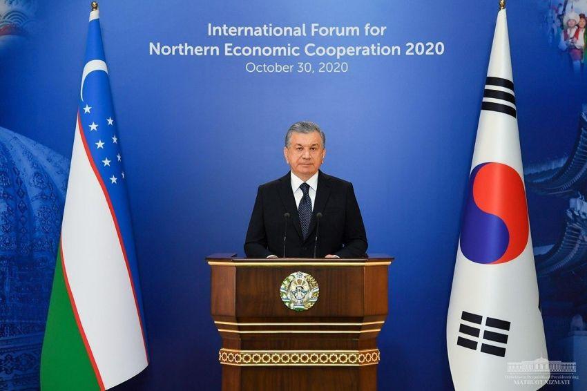 О чем говорил Шавкат Мирзиёев на втором Международном форуме северного экономического сотрудничества