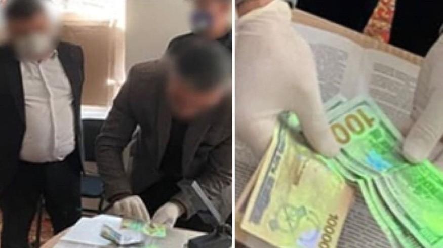 Глава инспекции санитарно-эпидемиологического надзора Бухарской области задержан при получении взятки
