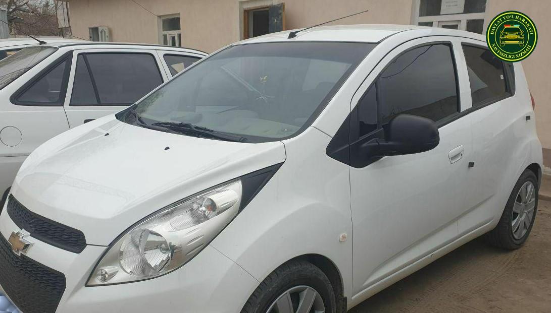 Сотрудники УБДД в Карши отправили автомобиль с госномером на штрафплощадку: владелец был в нетрезвом виде