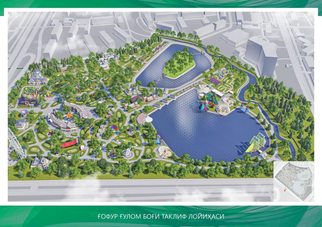В Минкульте опровергли сообщения о строительстве жилого комплекса не территории парка имени Гафура Гуляма