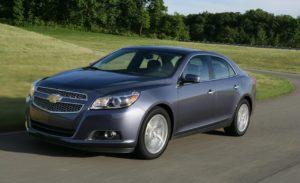 Российские автомобилисты не «заценили» Chevrolet Malibu