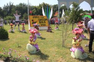 Праздник цветов в Ферганской долине