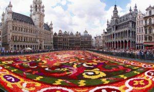 Узбекская делегация приняла участие в брюссельском фестивале цветов