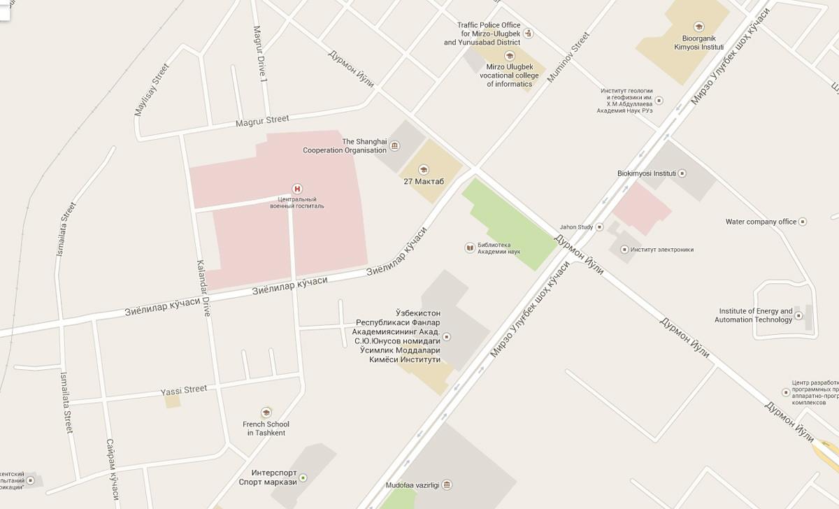 Новый университет Инха будет находиться в Мирзо-Улугбекском районе