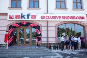 Открылся новый демонстрационный зал продукции Akfa