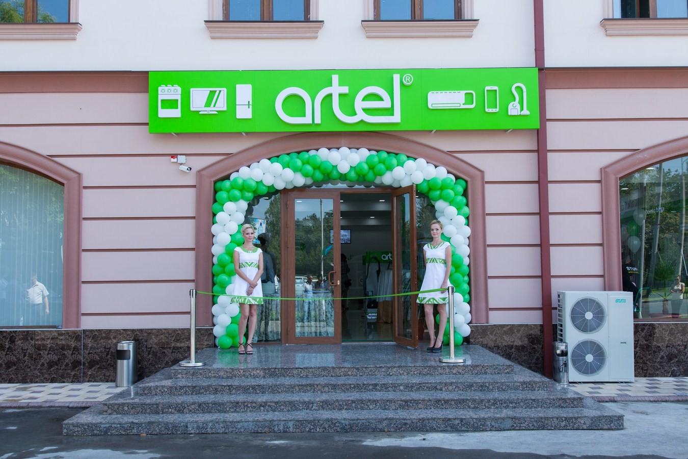 В Ташкенте состоялось открытие  нового магазина Artel