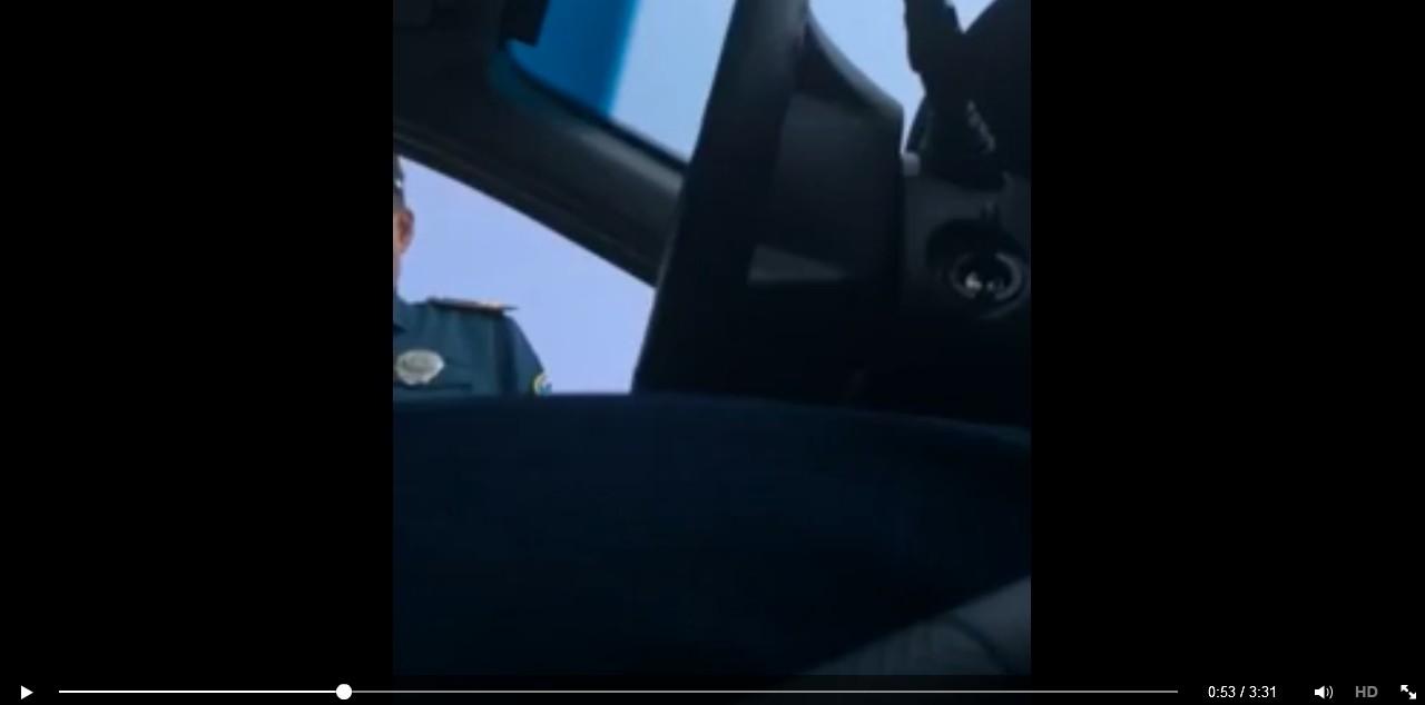 Как в Узбекистане на дорогах отстаивают свои права (видео)