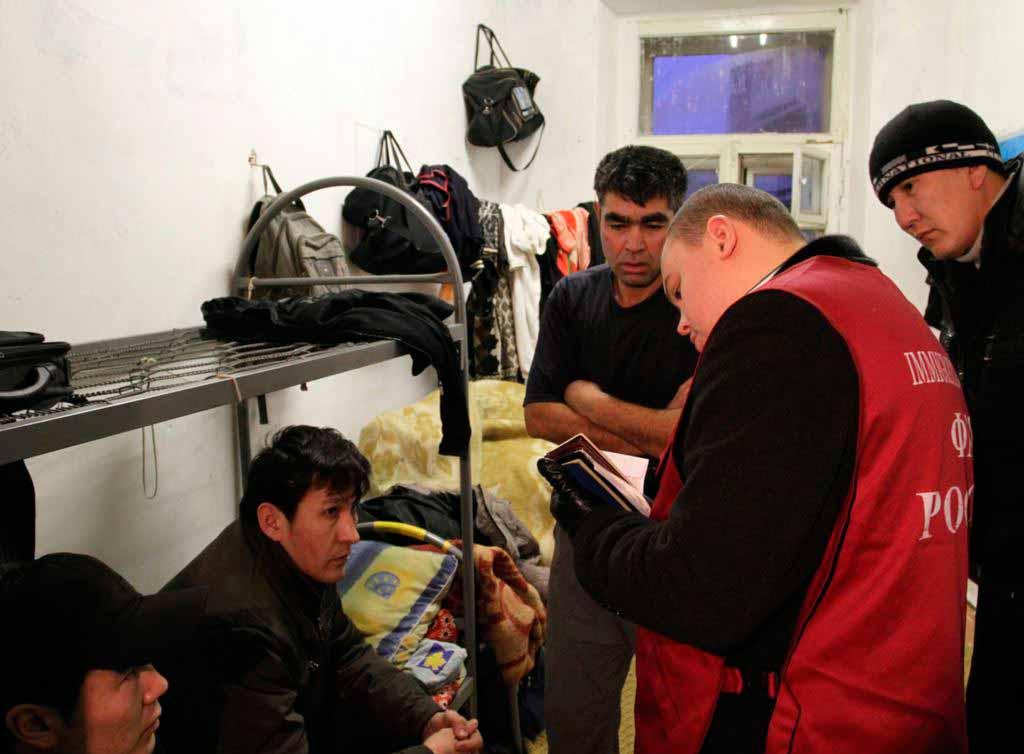 Москвичка прописала к себе в квартиру 198 мигрантов