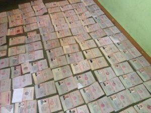 Экстремисты ИДУ подделали 200 паспортов