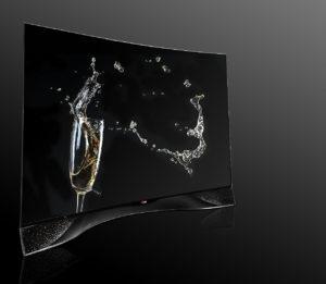 Гламурный телевизор от LG & SWAROVSKI