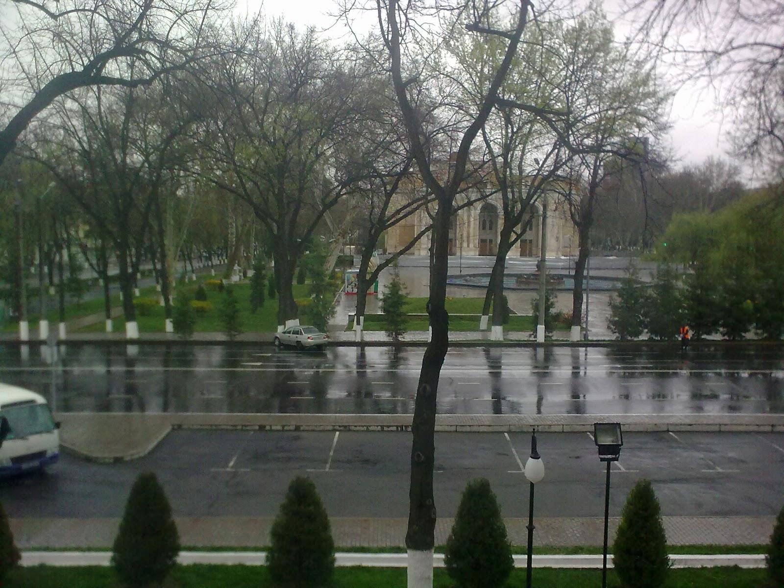 В середине апреля снова будет снег