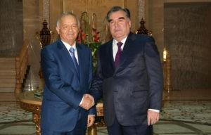 Президенты Узбекистана и Таджикистана уверены