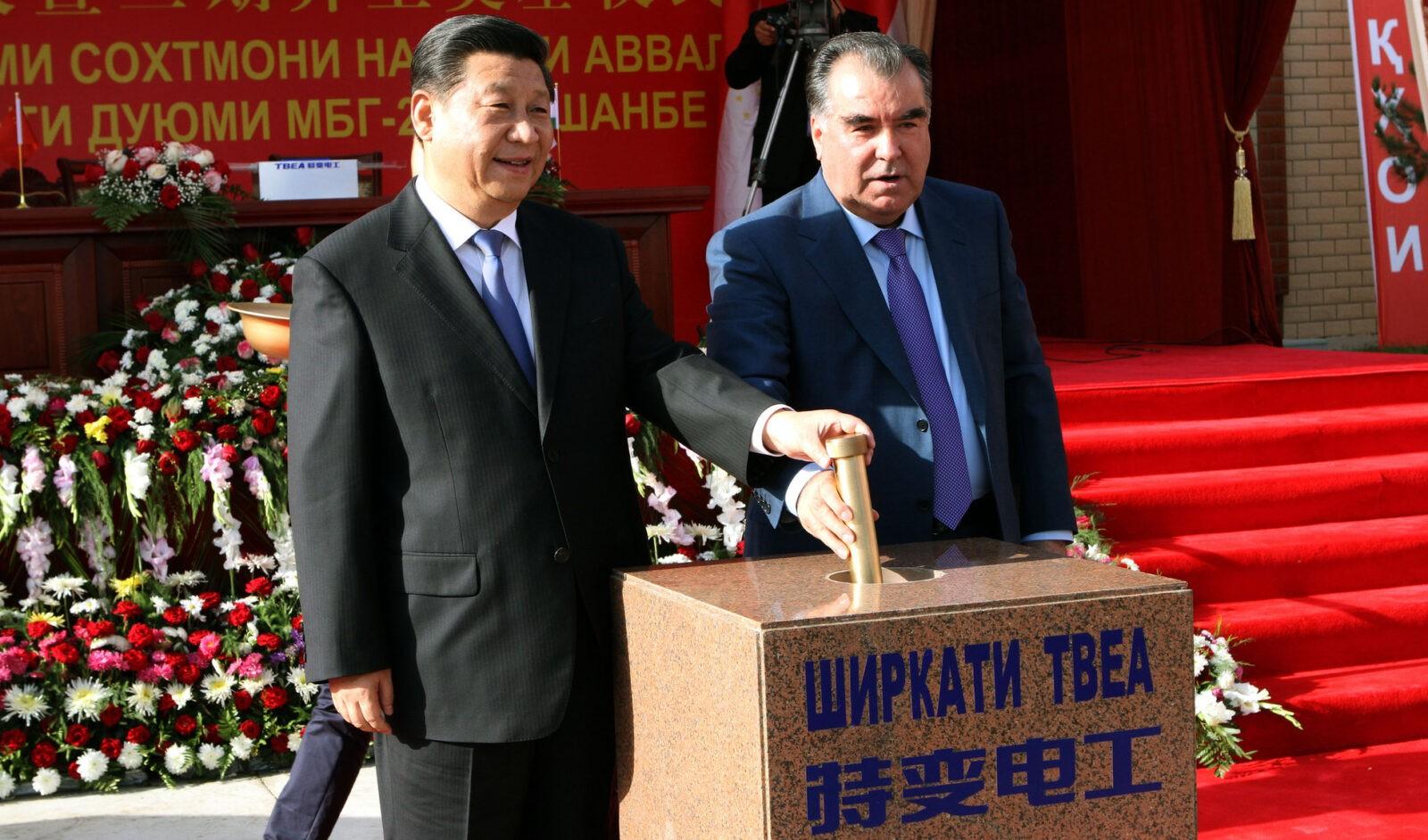 В Таджикистане начато строительство трансазиатской газомагистрали