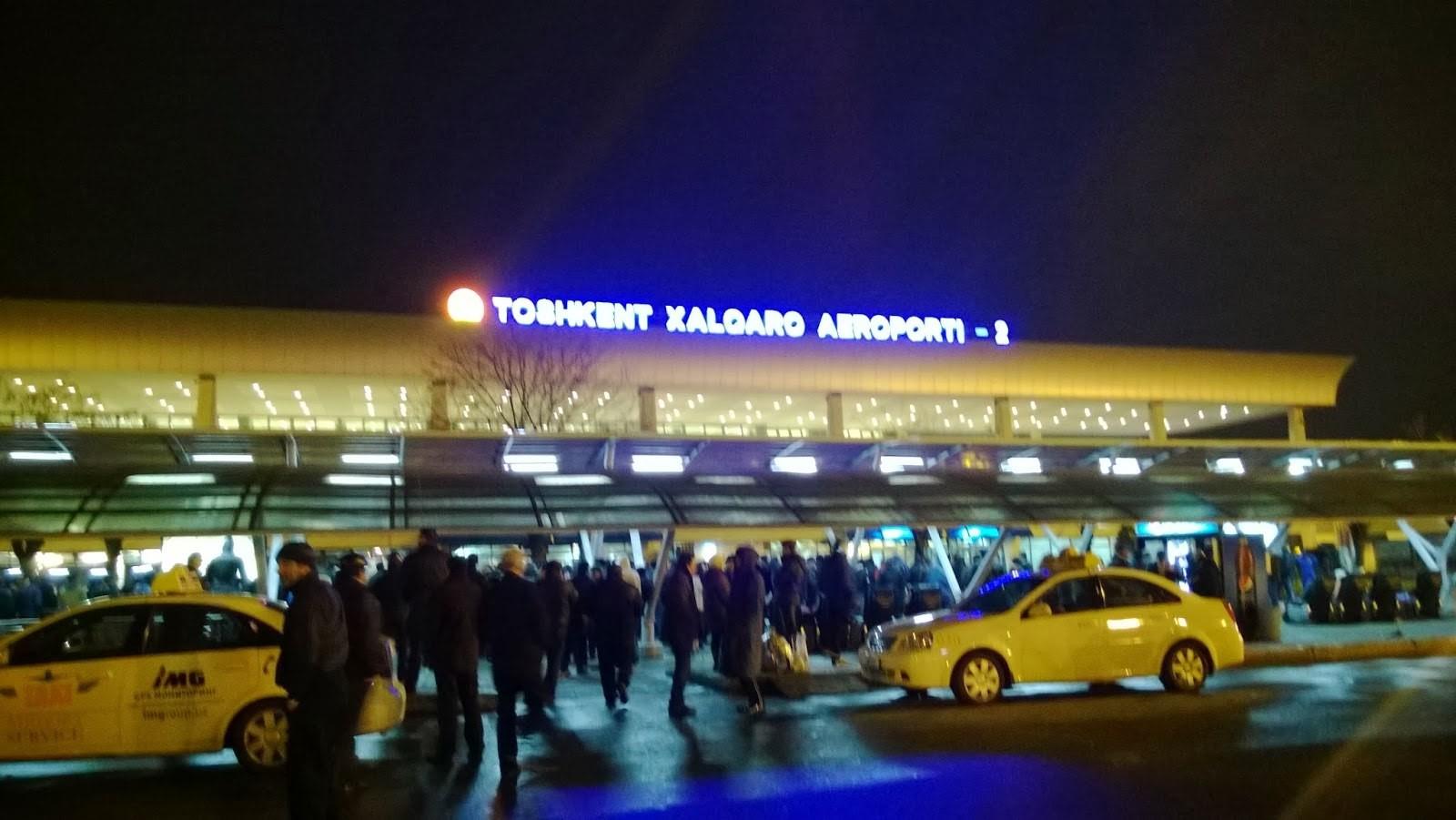 Тошкент аэропорти. Токайгача?