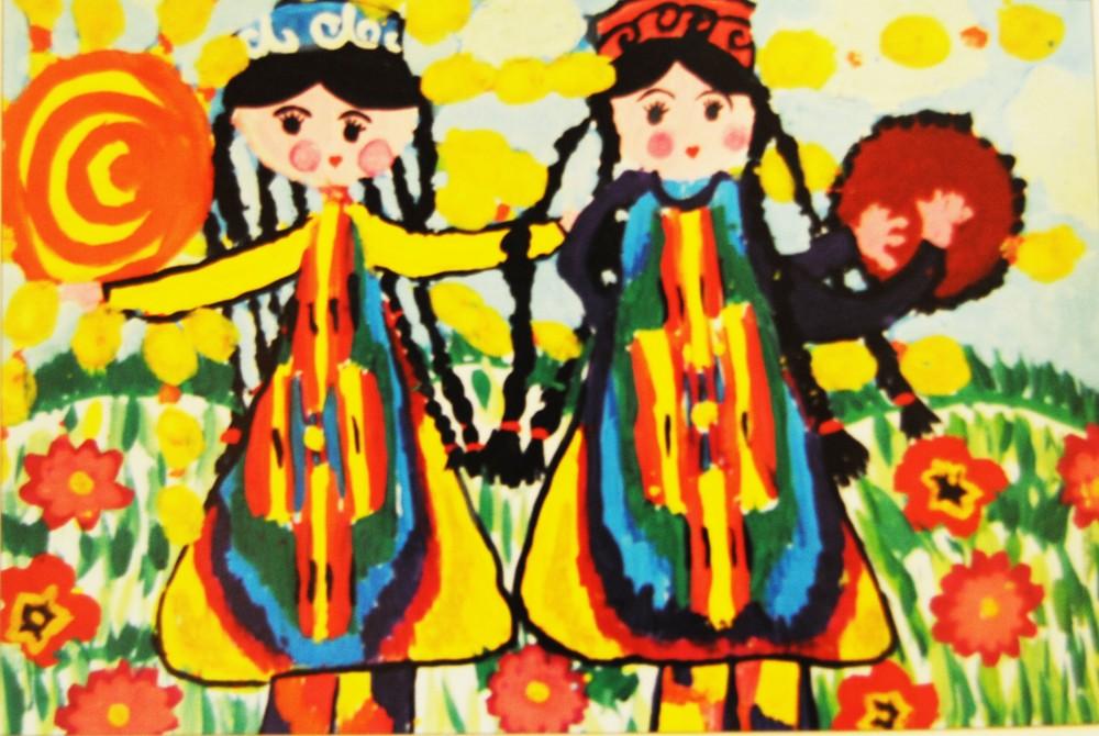 Дети рисуют мир. Фоторепортаж