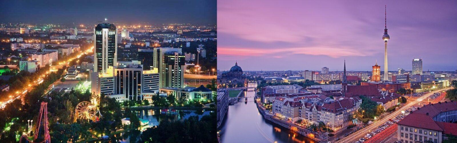Ташкент - Берлин: побратимские отношения