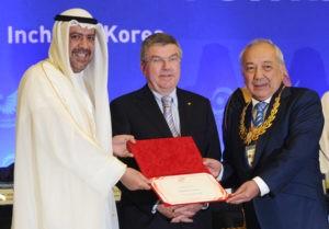 Золотой орден получил глава НОК Узбекистана