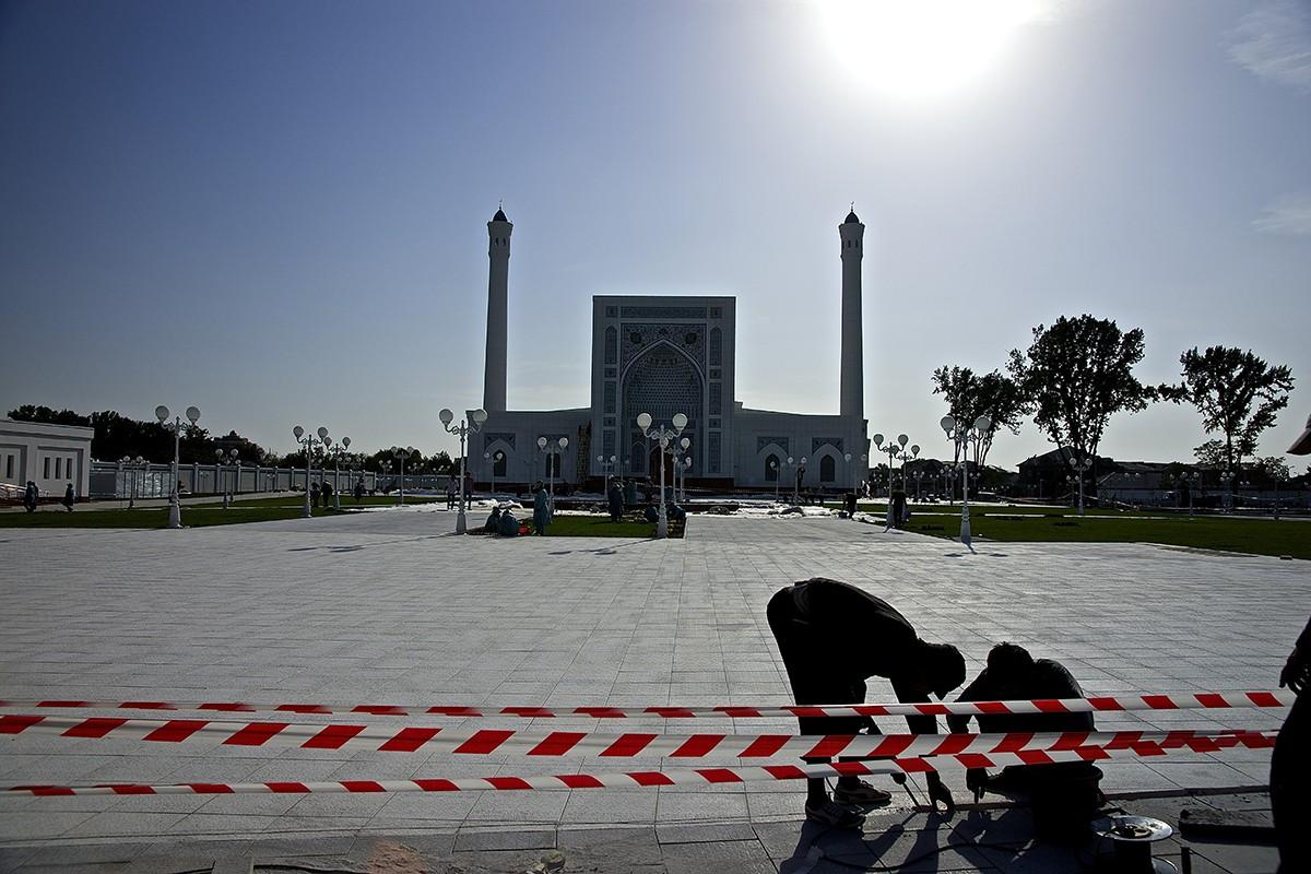 Мечеть «Минор». Последние штрихи (фото)