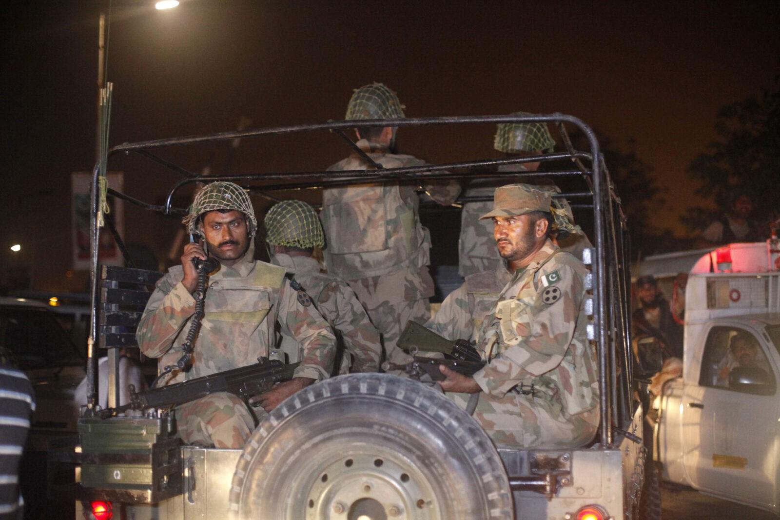 Пакистан уничтожает террористов