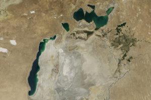Впервые в современной истории восточная часть Арала высохла