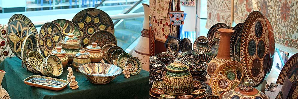 Узбекская керамика признана лучшей на португальском фестивале
