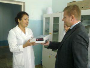 Чехия предоставила медицинское оборудование детской больнице в Нукусе