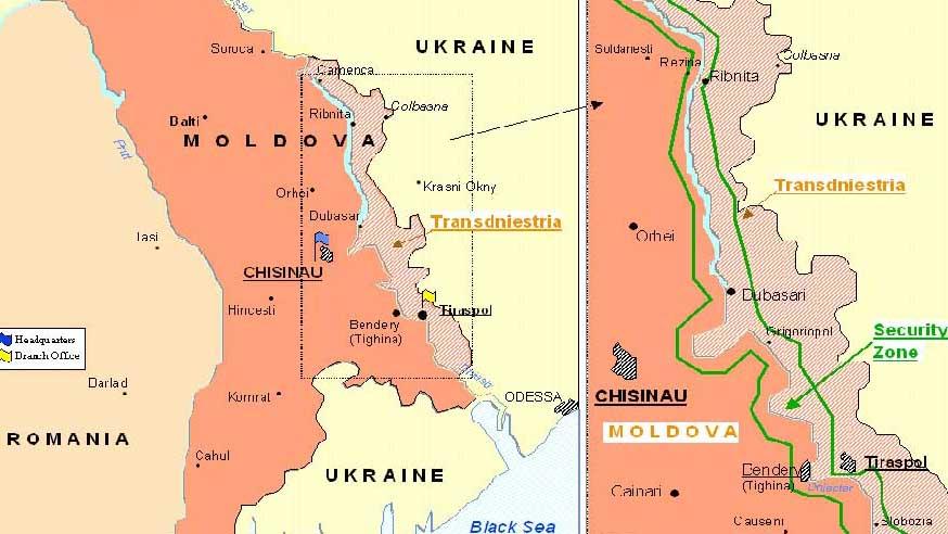 Приднестровье намерено войти в состав России