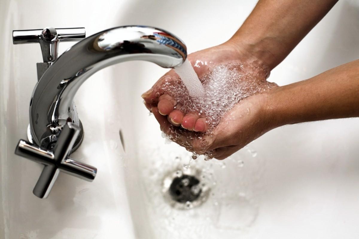 Вы руки перед едой мыли?