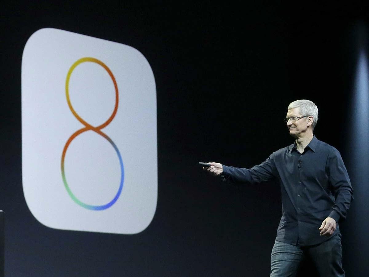 """""""iOS 8"""" дастурий таъминотидаги «ўлим тугмачаси»"""