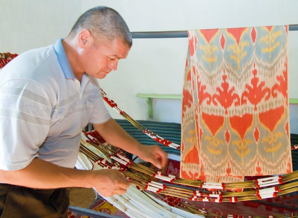 Выставка маргиланских ковров в Государственном музее прикладного искусства