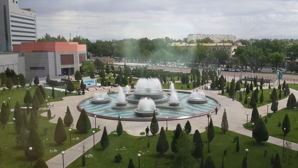 День фонтанов в Ташкенте (фото)