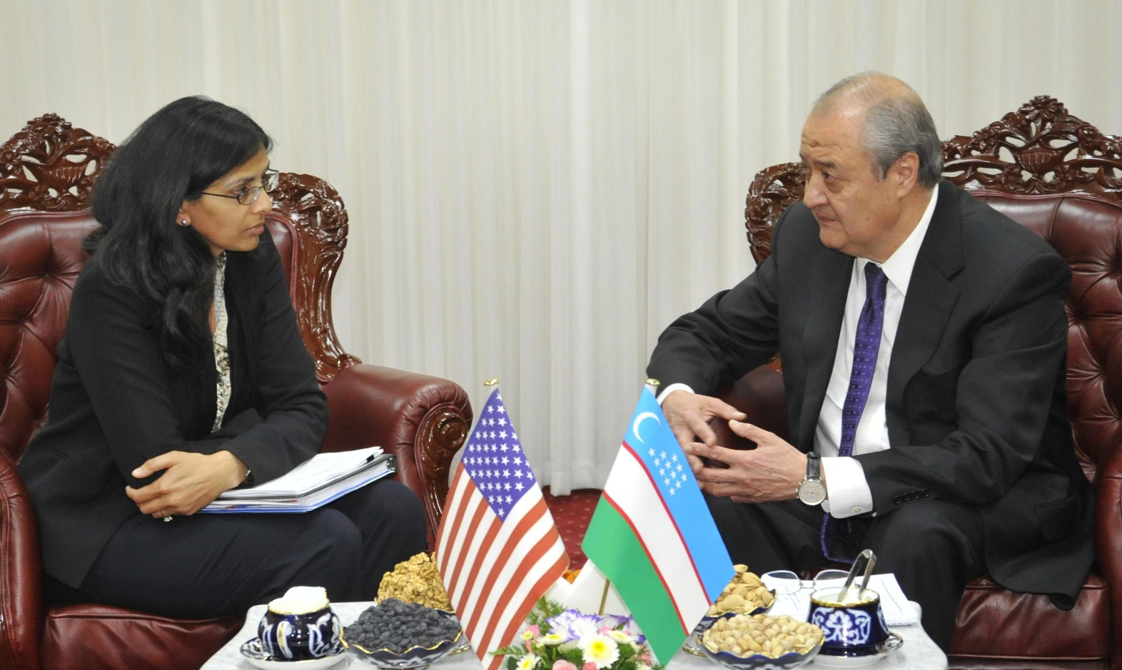 Помощника Госсекретаря США принял глава МИД Узбекистана
