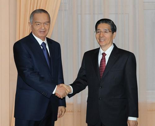 Президент Узбекистана принял Члена Госсовета КНР