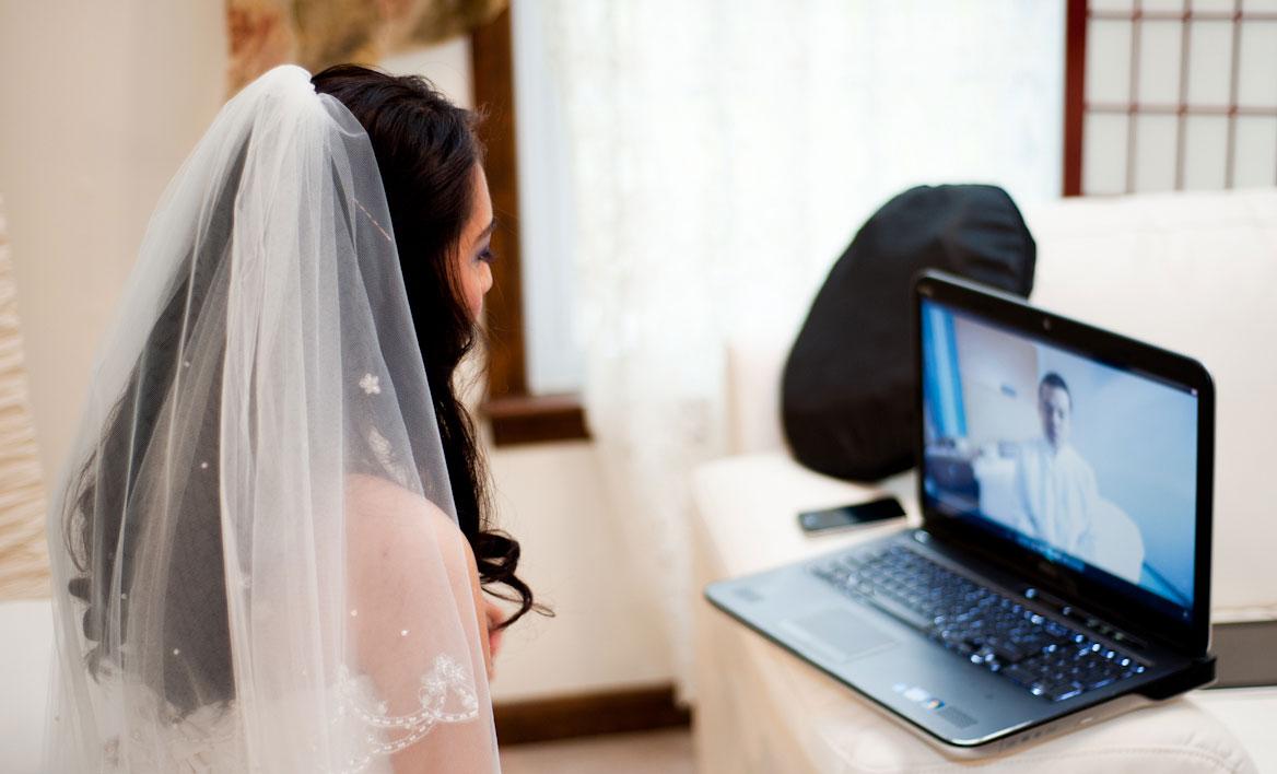 Свадьба по Skype