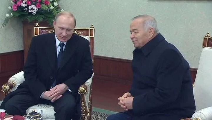 Президент России прибыл в Узбекистан
