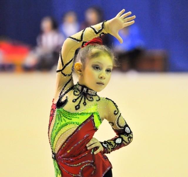 Прошли состязания по художественной гимнастике