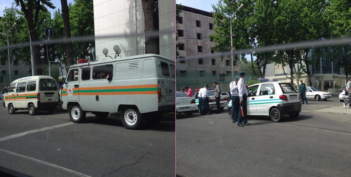 МЧС проводит в Ташкенте учения