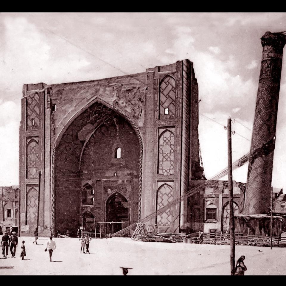 Пиза в Средней Азии