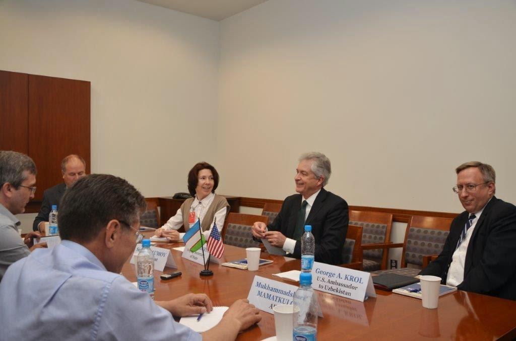 Заместитель госсекретаря Бёрнс в Ташкенте: США никуда не уходят из этого важного региона